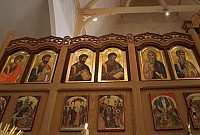 Left side of iconostasis