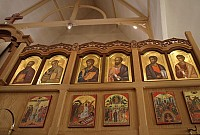 Right side of iconostasis